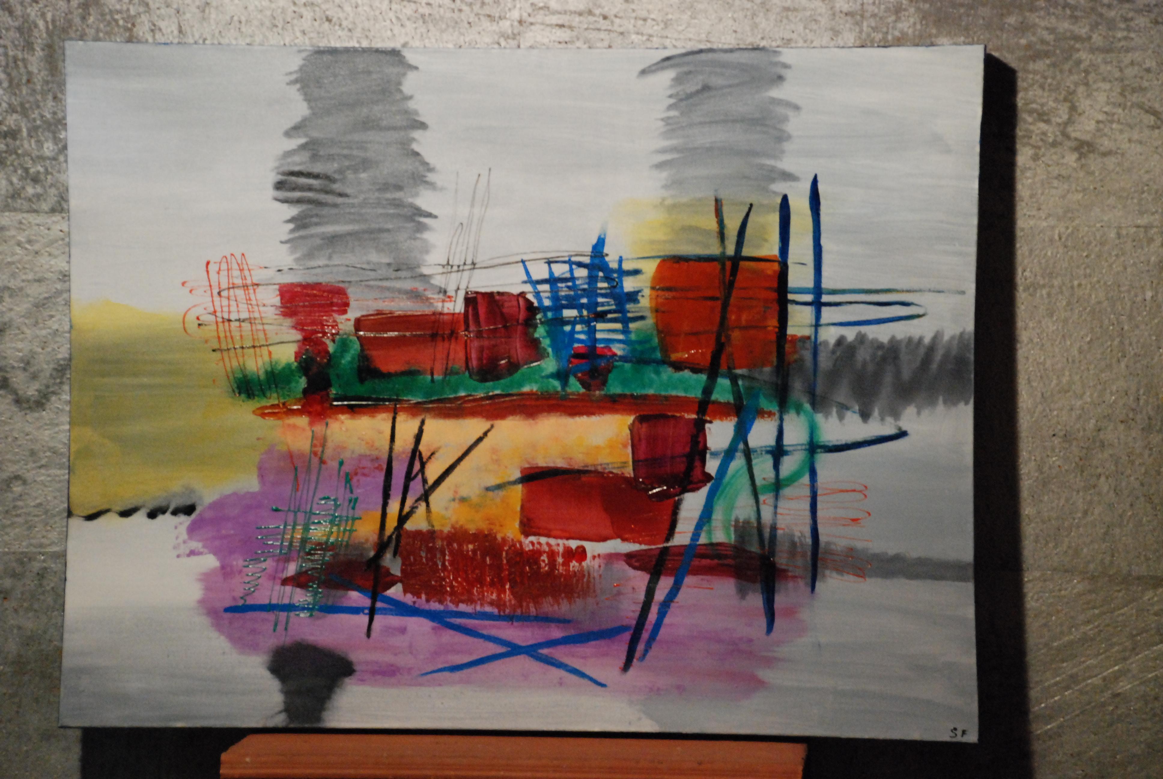 Les autres tableaux peintures modernes de sophie for Images tableaux modernes